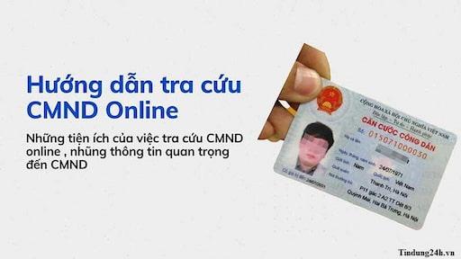 Tra cứu CMND/CCCD online nhanh