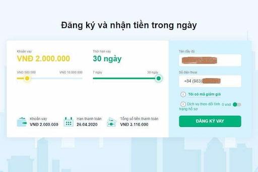 Khách hàng được quyền vay tiền online 100% mà không phải gặp mặt trực tiếp