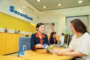 Ngân hàng Sacombank chỉ làm việc vào các ngày từ thứ 2 đến thứ 6 hàng tuần