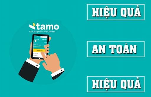 Tamo cung cấp dịch vụ cho vay tiền trực tuyến không cần gặp mặt