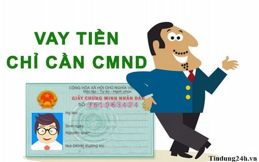 Chỉ với CMND/CCCD là có thể đăng ký vay tiền online nhanh