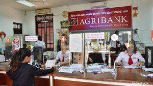Kiểm tra số dư tài khoản Agribank tại quầy giao dịch